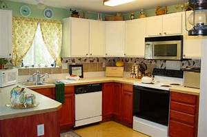 Ideas for kitchen decoration kitchen decor design ideas for Best brand of paint for kitchen cabinets with outside wall art ideas
