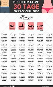 30 Tage Fitness : die ultimative six pack challenge schaffst du sie ~ Frokenaadalensverden.com Haus und Dekorationen