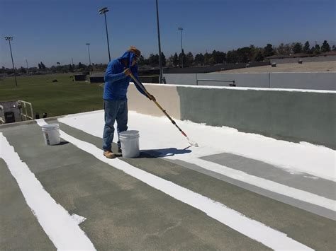 apply deck flexs elastomeric roof coating deck flex