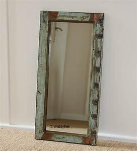 Holz Vintage Look : spiegel von madam stoltz wandspiegel unikat aus antikem holz 61x30 cm ebay ~ Eleganceandgraceweddings.com Haus und Dekorationen