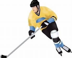 Hockey Player clip art