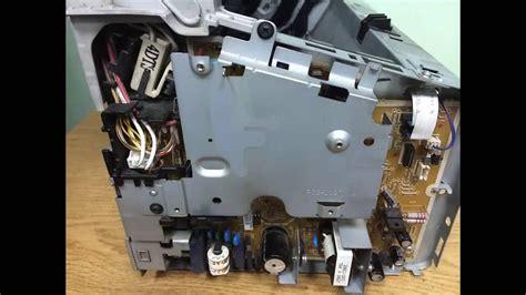 replace formatter assembly  hp laserjet p
