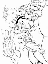 Coloring Pages Nemo Finding Printable Print Cartoon Recommended Mycoloring sketch template