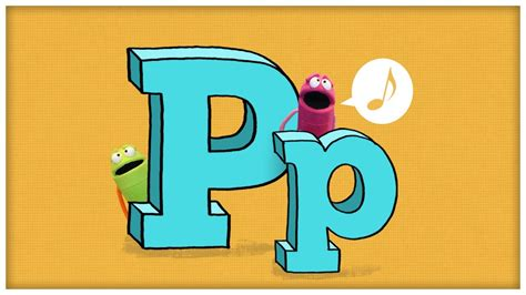 letter p song abc song quot the letter p quot by storybots 33093