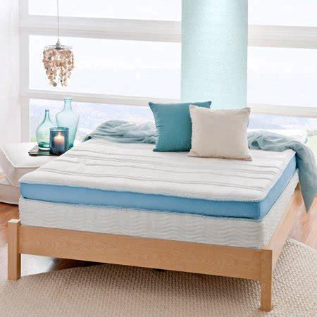 spa sensations mattress spa sensations luxe 13 quot mygel memory foam pillow top