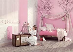papier peint fille chaioscom With papier peint chambre de fille