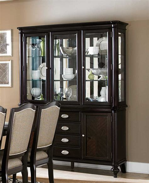 Dining China Cabinet - homelegance marston china cabinet dallas tx dining room