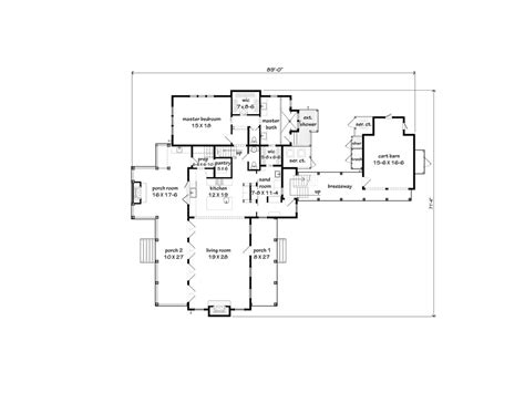 Southern Floor Plans by See The Floor Plans Southern Living