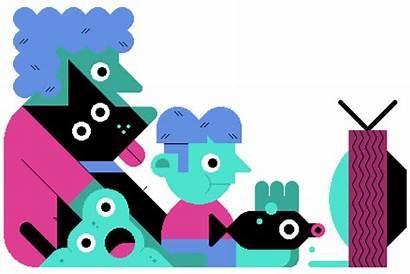 Shows Cartoon Watching Children Animated Dora Explorer
