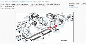 2004 Honda Accord Fuel Line Diagram
