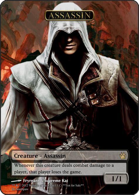 mtg assassin token deck vraska the unseen assassin token