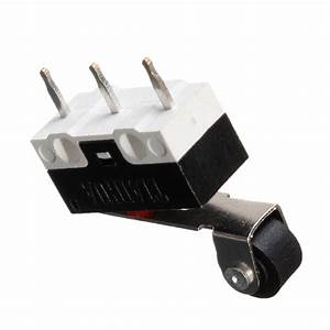 5pcs Ultra Mini Roller Lever Actuator Microswitch Spdt Sub