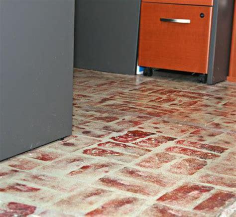 faux brick flooring 24 best faux brick floors images on pinterest brick flooring fake brick and faux brick