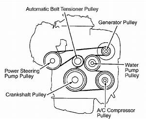 2002 Toyota Camrybelt Routing Or Picture