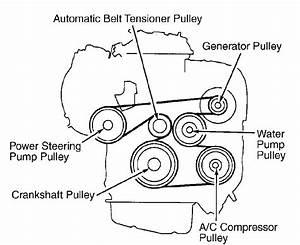 Toyota Camry Serpentine Belt Diagram