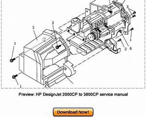 Hp Designjet 2000cp 2500cp 2800cp Service Repair Manual