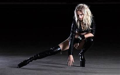 Boots Latex Fetish Legs Babes Models Blondes