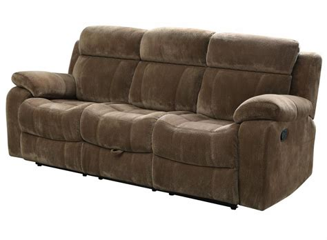 Fabric Reclining Loveseat With Console by Brown Fabric Reclining Sofa A Sofa Furniture
