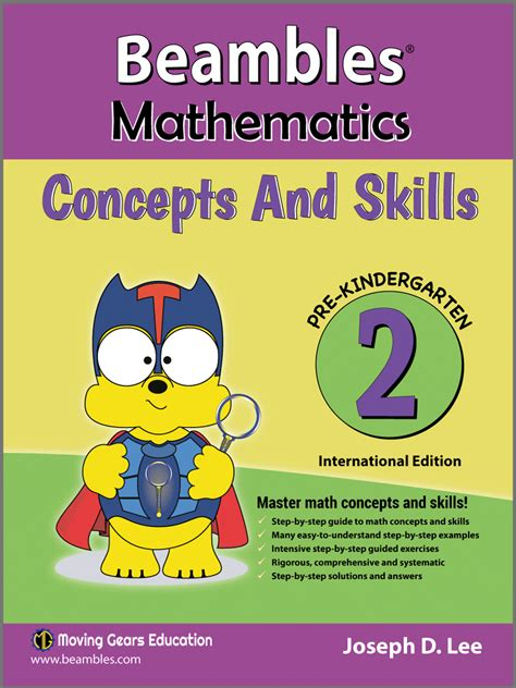 pre maths concepts for preschoolers beambles mathematics concepts and skills for pre 974