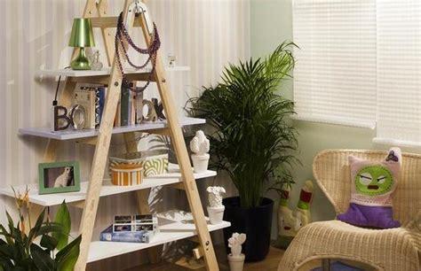 Diy Home Decor Books by Diy Ladder Shelf Living Room Home Decor Photos Books