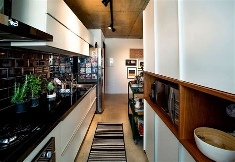 concrete cement  creative lighting space savvy apartment  sao paulo
