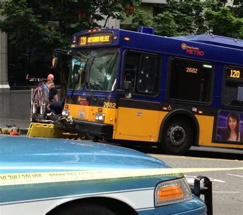 West Seattle Blog Updates Metro Bus Driver Shot