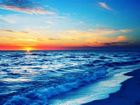 Ocean Sunset 4k Ultra Hd Wallpaper And Background