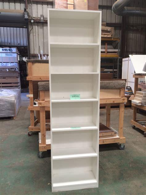 Vertical Freestanding Shelving Unit W6 Shelves White