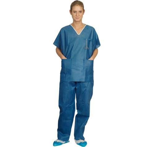 blouse de cuisine pyjama de bloc jetable tenue médicale non tissé usage unique