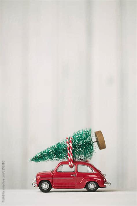 toy car  christmas tree  top  ruth black car