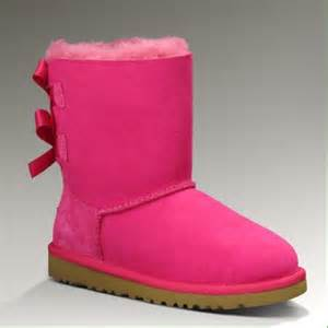 ugg boots sale pink 19 ugg shoes pink bailey bow ugg boots from miranda 39 s closet on poshmark