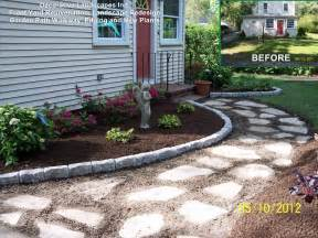 Front Yard Landscaping Ideas Using Stone