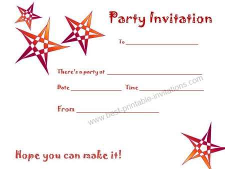 printable birthday invitations the cheapest way for