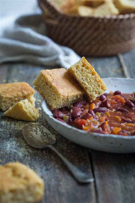 This is the best vegan cornbread recipe because it creates a delicious, dense cornbread perfect for serving with stews and chili. Healthy Vegan Gluten-Free Cornbread | Recipe | Corn bread ...