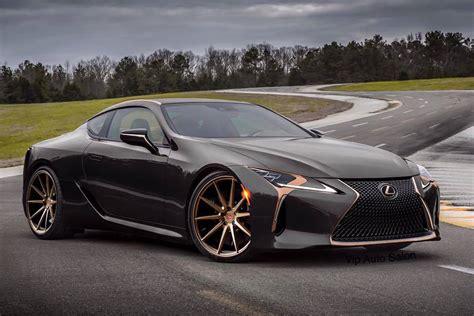 Hot or Not?: The Lexus LC 500 in Black and Bronze – Clublexus