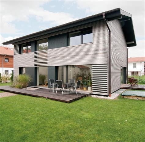 Moderne Häuser Mit Holz by Architektur Diese Modernen H 228 User Wurden Mit Holz Gebaut
