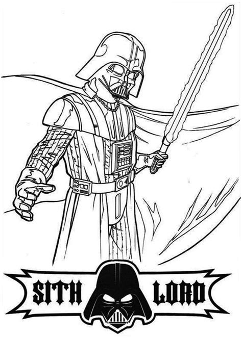 darth vader coloring pages    print
