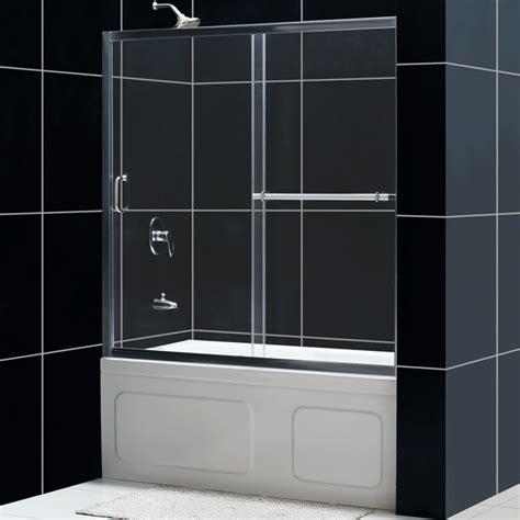 infinity sliding tub door glass tub door