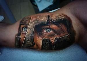 Warrior arm piece, hyper-realistic tattoo | My uploaded ...