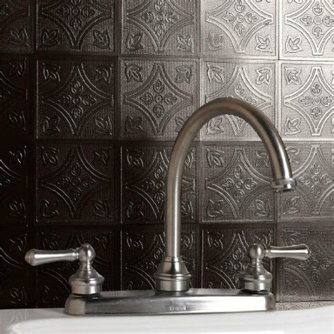 Metal Adhesive Backsplash Tiles by Self Adhesive Backsplash Tiles Brylanehome Peel And