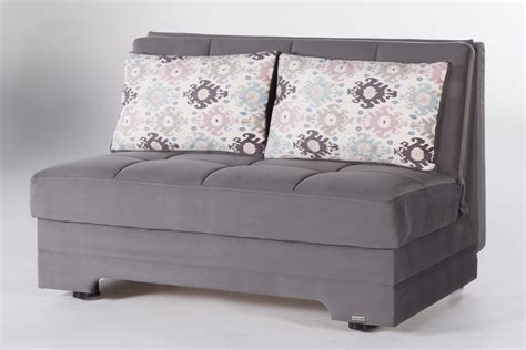 Or Loveseat by Twist Gray Loveseat Sleeper By Istikbal Sunset