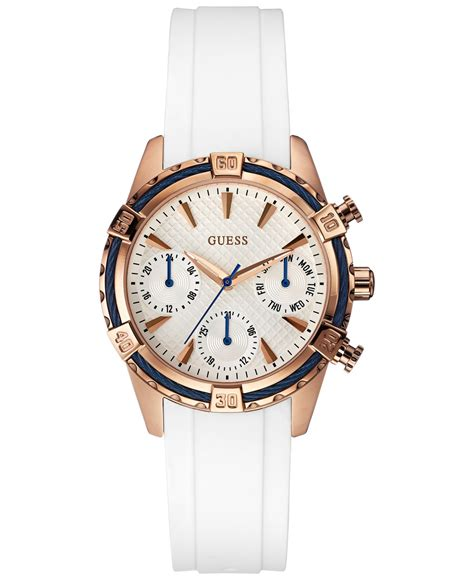 Guess 20563 Gold White guess s white silicone 35mm u0562l1 in