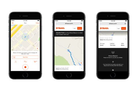 cycling and running app strava adds beacon safety feature the verge