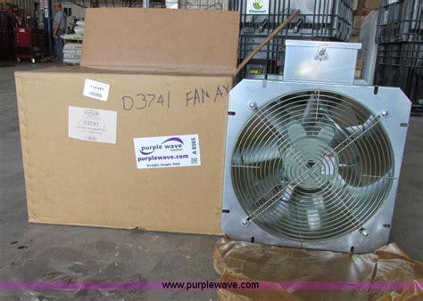 12 grain bin fan sukup grain bin fan no reserve auction on wednesday