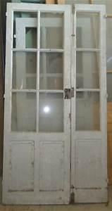 porte interieure ancienne vitree 2 vantaux tierce en pin With porte de garage et porte intérieure vitrée 2 vantaux