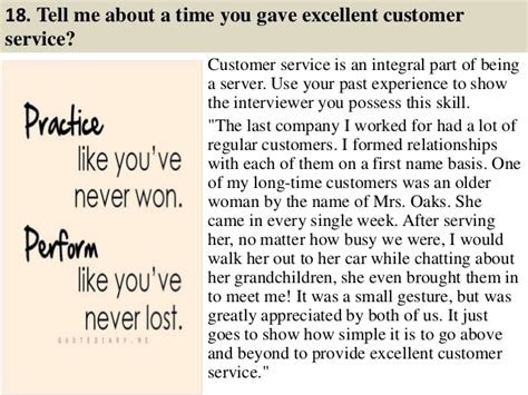 How Would You Describe Customer Service by Top 36 Waiter And Waitress Questions And Answers Pdf