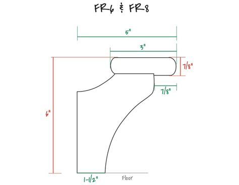 Home Bar Measurements by Wood Foot Rail System For Home Bars Bar Foot Rail Kit