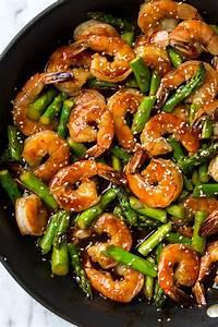 Teriyaki Shrimp and Asparagus Stir-Fry - Cooking Classy