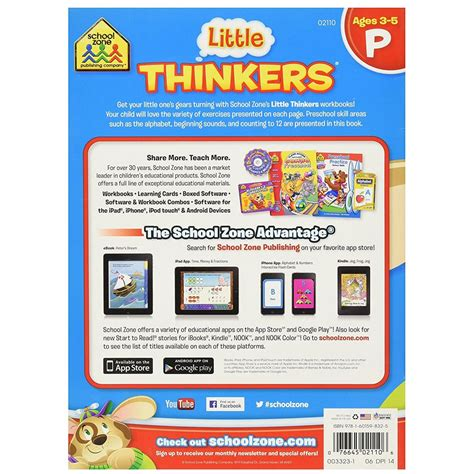little thinkers preschool thinkers preschool thinking activity workbook 929