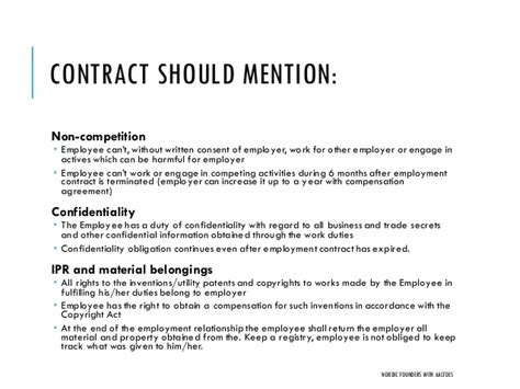 startup employment contracts and actual cost of hiring
